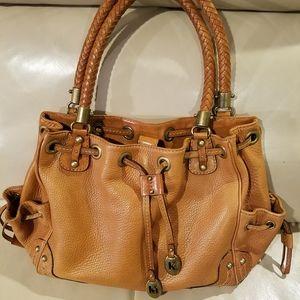 Michael Kors Brown Bucket Handbag